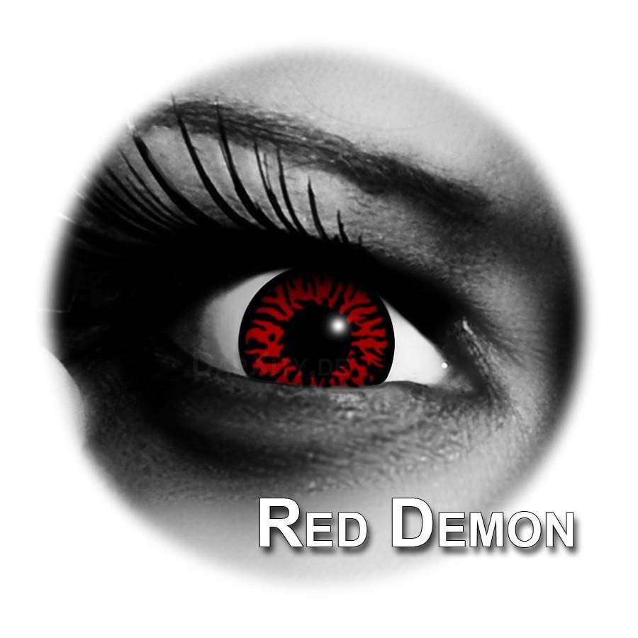 red demon farbige kontaktlinsen funlinsen funlinsen und. Black Bedroom Furniture Sets. Home Design Ideas