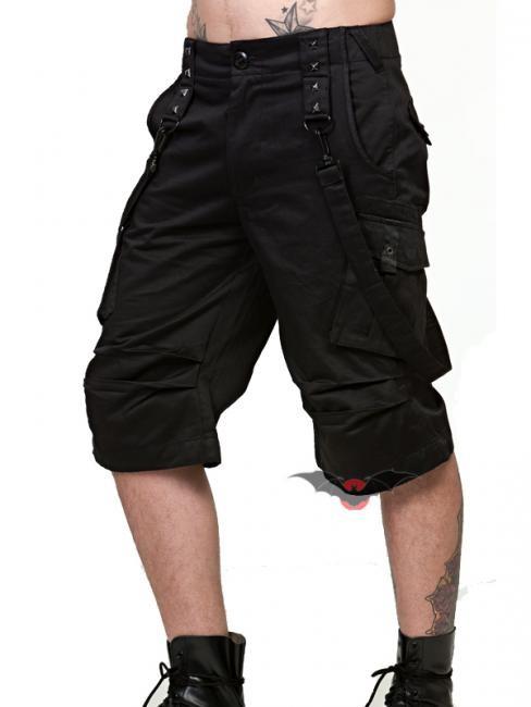 Schwarze kurze jogginghose